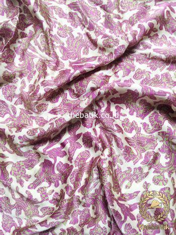 Kebaya Setelan Batik Sitara jual bahan kebaya rok bawahan batik sutera kain atasan baju ungu thebatik co id