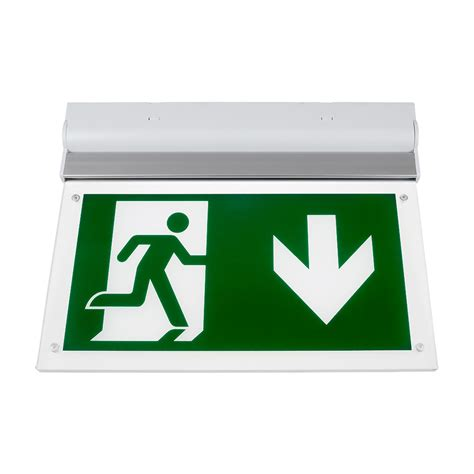 Lu Emergency Exit Led v tac 16 leds wall ceiling mount emergency led exit