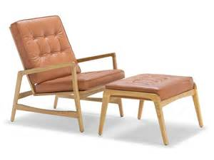 fauteuil cuir bois