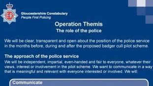 section 38 breach of the peace gloucestershire police itv news