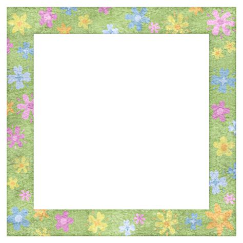 design frame cartoon png image spring frames cartoon frame design clipart