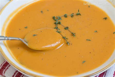 Soups On Butternut Squash Soup by Sweet Potato Butternut Squash Soup Lemoine Family Kitchen