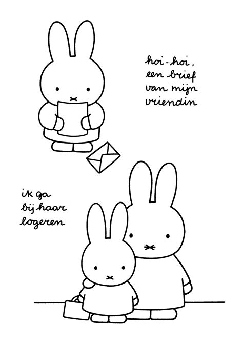 coloring page miffy coloring pages 19
