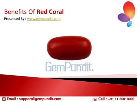 coral benefits
