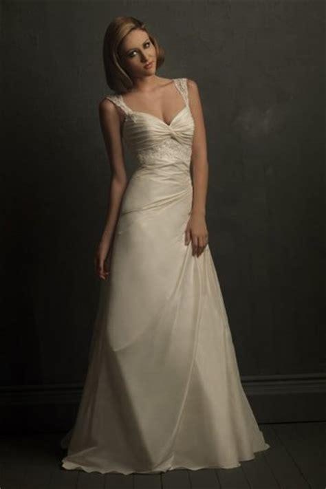 Brautkleider Beige by A Linie Herz Ausschnitt Applikation Beige Taft Brautkleid