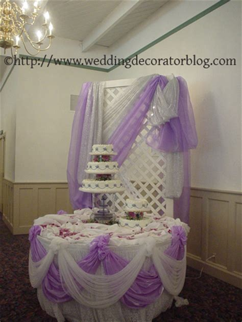 Wedding Cake Drapes Reader Question What Materials To Drape With
