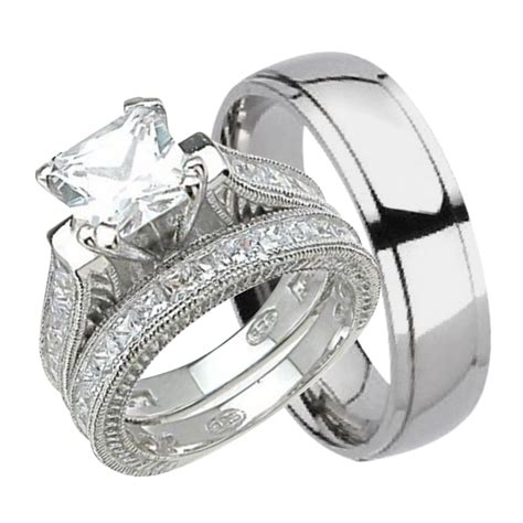 Wedding Rings Sets For Him And by Wedding Rings Sets For Him And Rings Bands