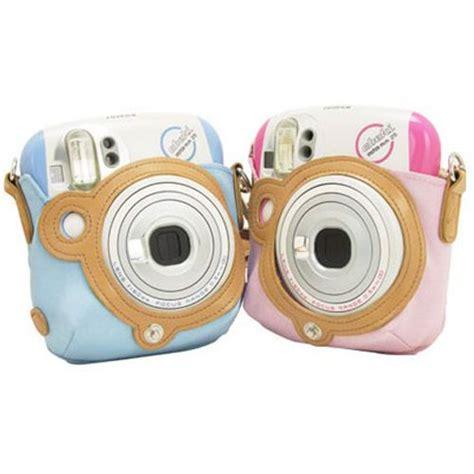 fujitsu polaroid fujifilm instax shoulder bag pastel pink for