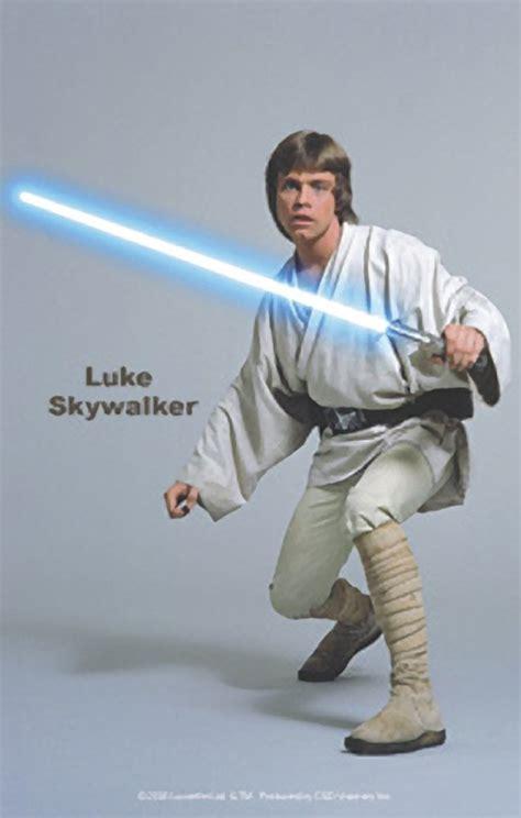 Star Wars Office Decor by Star Wars Luke Skywalker Sticker