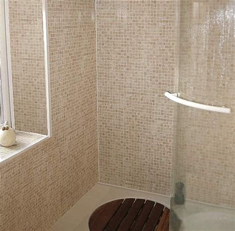 paneled bathroom walls decos mosaic bathroom wall panels