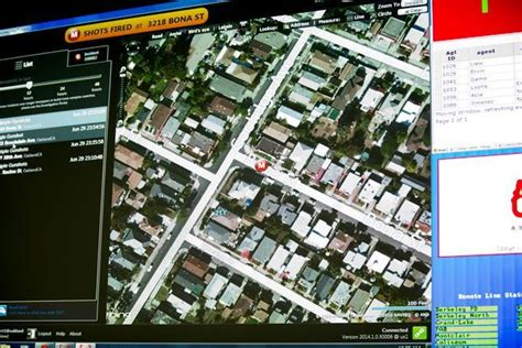 san jose dispatch map drummond how valuable a policing tool is shotspotter