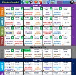 insanity workout calendar 2017 blank calendar 2017
