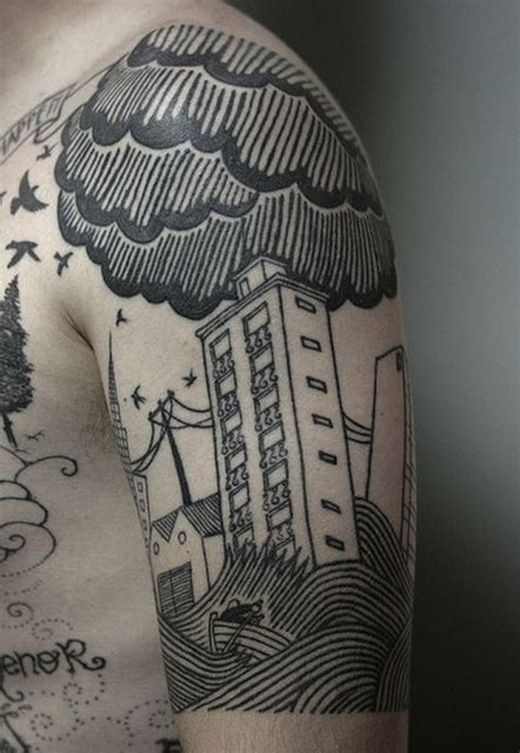 city tattoos designs 45 cloud tattoos meaning and designs gallery for and