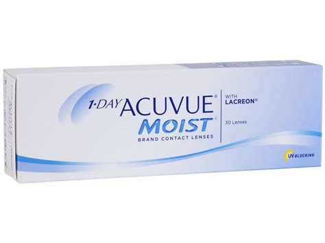 1 Day Acuvue Moist 3536 by 1 Day Acuvue Moist 30 Pack Acuvue Moist Dailies