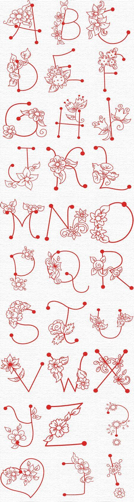 alphabet ravie font by linleys designs sewing pattern best 25 flower letters ideas on pinterest letter