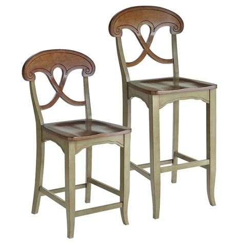 Green Counter Stools by Green Marchella Bar Counter Stools Hardwood