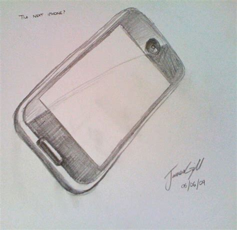 I Phone Sketches by Sketch Of Maybe Iphone V3 Flickr Photo