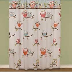 Owl Shower Curtains Owl Bath Collection Boscov S
