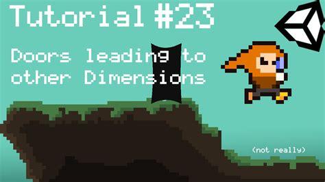 tutorial unity open door unity 5 2d platformer tutorial part 23 door level
