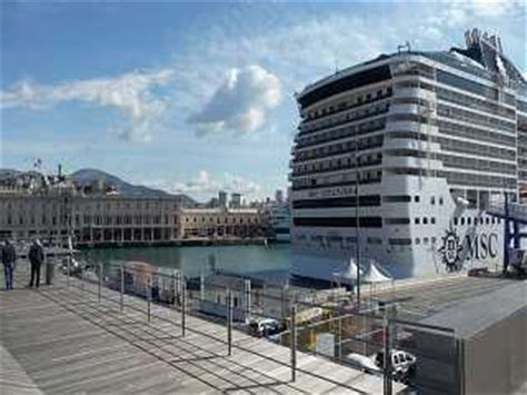 parcheggio porto genova msc genua hafen genua kreuzfahrthafen terminal
