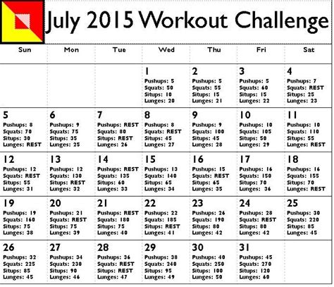 17 best images about workouts on home july