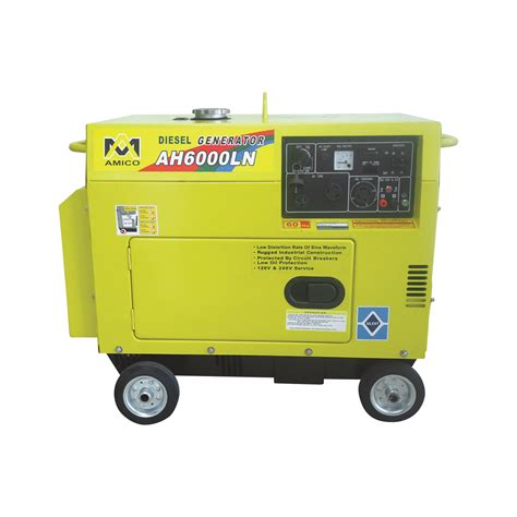 product amico diesel generator 6500 surge watts 6000