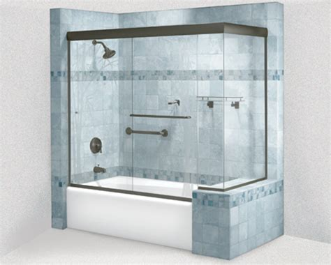 Home Depot Shower Doors Sliding Frameless Sliding Shower Doors At Home Depot Door Stair Design