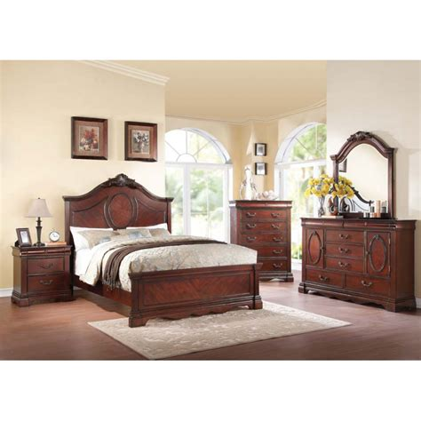 4pc bedroom set estrella 4pc bedroom set