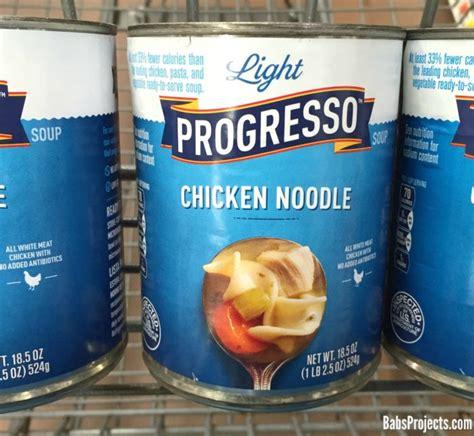 progresso light soup recipes progresso chicken noodle soup