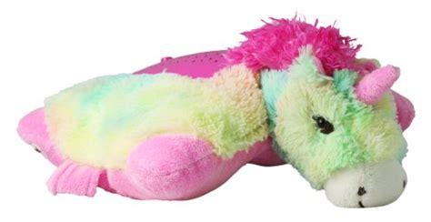 Pillow Pet Rainbow Unicorn - pillow pets lites rainbow unicorn 11 quot buy