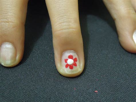 easy nail art wikihow 3 ways to make cute flower nail designs wikihow