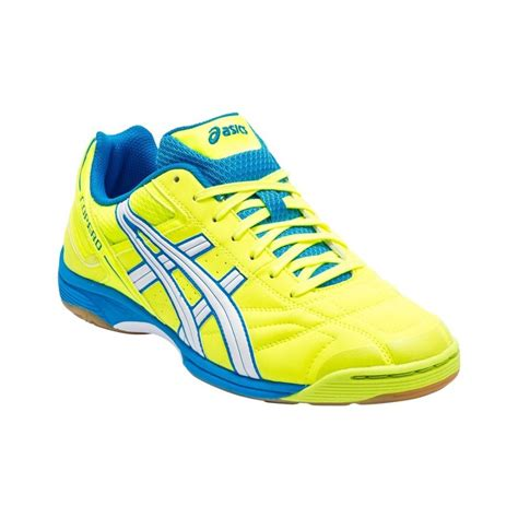 neon shoes asics copero s mens indoor soccer shoes neon yellow