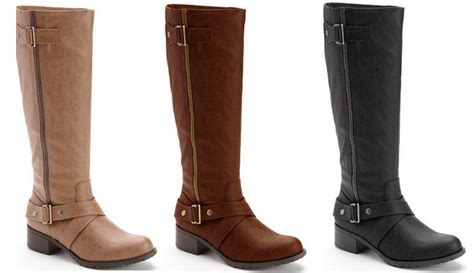 kohls boots boots sale boots 16 79 shipped from 90