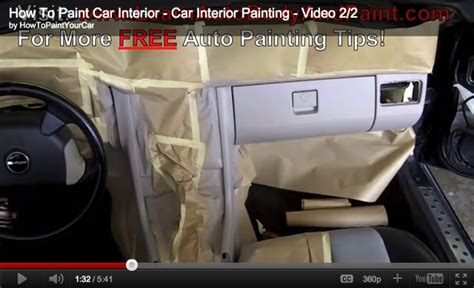 how to paint your car interior car interior painting tips how to paint your car do it