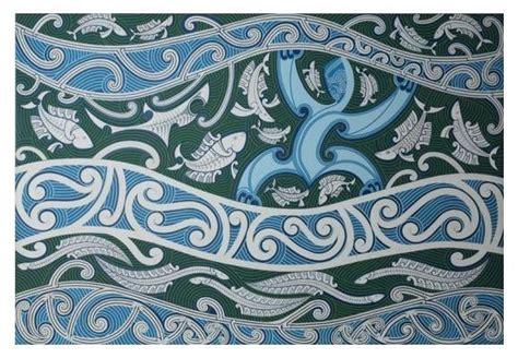 tangaroa tattoo designs tangaroa acrylic on board by cliff whiting iblue
