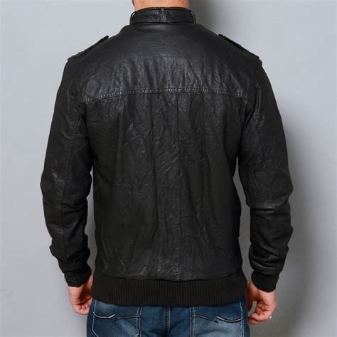 Handmade Leather Jackets - handmade mens leather jacket black biker leather jackets