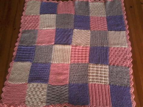 couverture b 233 b 233 partchwork couleurs pastel tricot 233 e 224 la
