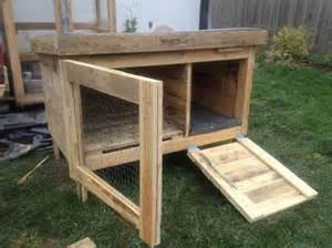 Outdoor Rabbit Hutch Plans Rabbit Hutches Made From Pallets Pallet Wood Projects