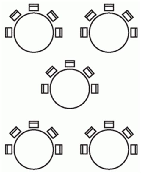 cabaret style seating seating layouts for