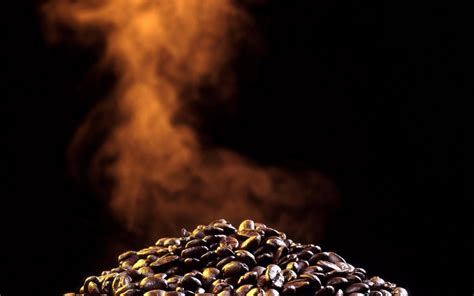 coffee wallpaper high resolution baked coffee beans hd
