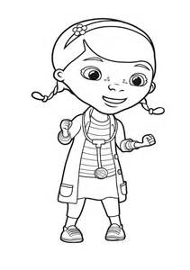 dibujos colorear maestra infantil primaria doctora juguetes colorear doc