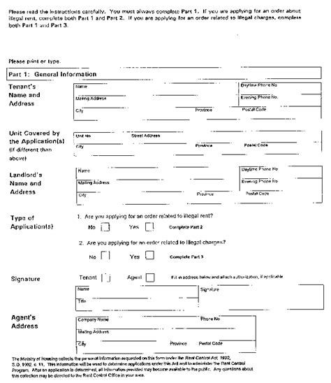 Residential Tenant Rental Application Ontario Document View Ontario Ca