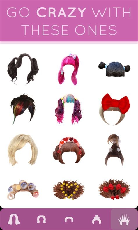 hairstyles only app hairstyle mirror try on live android apps on google play