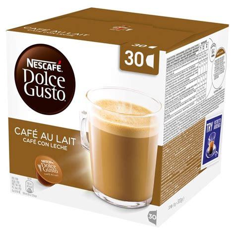 Nescafe Dolce Gusto Au Lait Murah morrisons nescafe dolce gusto cafe au lait pods 30 per pack product information