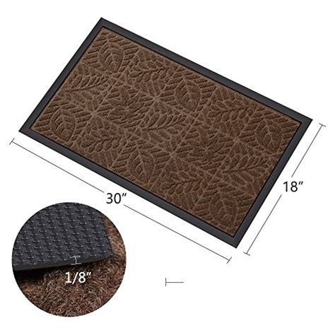 Shoes Doormat by Outside Shoe Mat Rubber Doormat For Front Door 18 Quot X 30