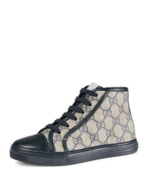 gucci sneakers for toddlers gucci gg supreme canvas high top sneaker sizes 10