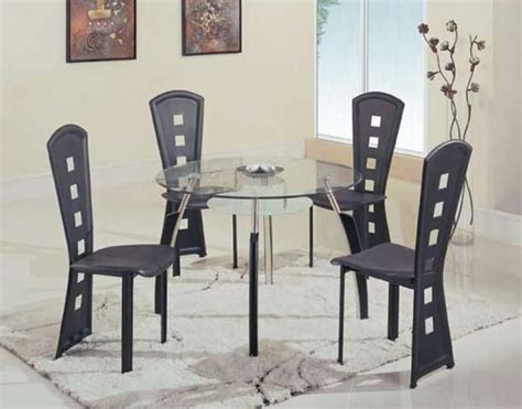 modern round dining room sets modern high end round wooden with glass top complete