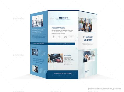 software brochure software business trifold brochure by mike pantone