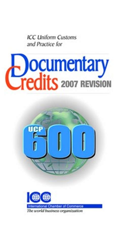 Letter Of Credit Ucp 600 Pdf icc customs and practice for documentary credits