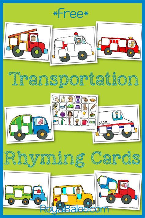 kindergarten themes transportation free transportation printables transportation